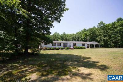 Fluvanna County Single Family Home For Sale: 18 Tabscott Rd