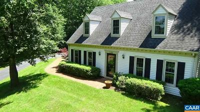 Charlottesville Single Family Home For Sale: 1150 Hearthglow Ct