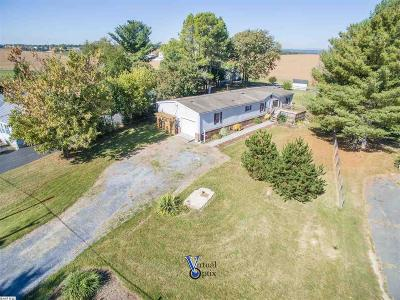 Augusta County Single Family Home For Sale: 540 Battlefield Rd
