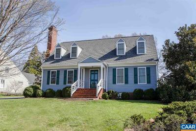 Charlottesville Single Family Home For Sale: 505 Kellogg Dr