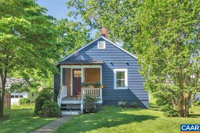 Charlottesville Single Family Home For Sale: 914 Rockland Ave