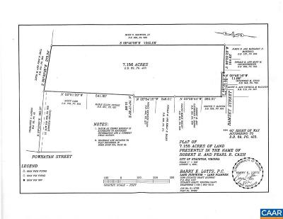 Staunton Lots & Land For Sale: 413 Ramsey St