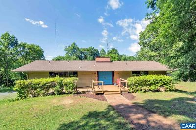 Albemarle County Single Family Home For Sale: 1741 County Line Ln