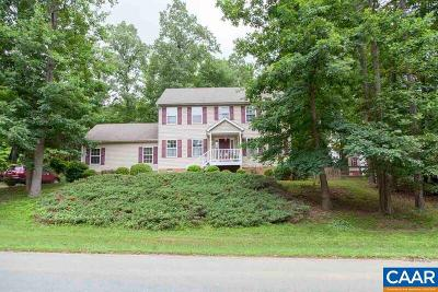 Fluvanna County Single Family Home For Sale: 14 Woodlawn Dr