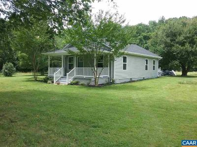 Nelson County Single Family Home For Sale: 2221 Crabtree Falls Hwy
