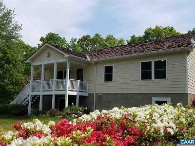 Albemarle County Single Family Home For Sale: 2850 Camp Spring Rd