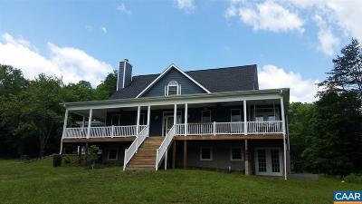 Charlottesville Single Family Home For Sale: 2384 Milton Rd