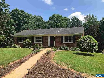 Ruckersville VA Single Family Home For Sale: $285,000