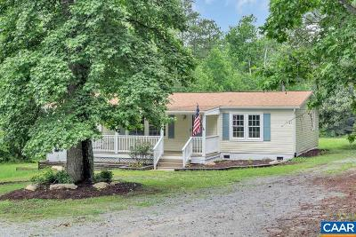 Louisa County Single Family Home For Sale: 1289 Eastham Rd