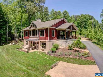 Albemarle County Single Family Home For Sale: 100 Miller School Rd