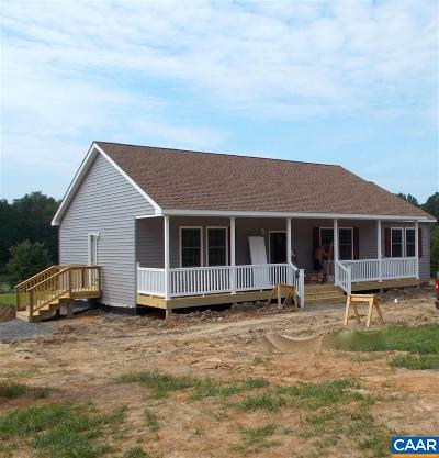 Louisa County Single Family Home For Sale: 1884 Kennon Rd