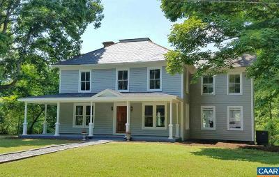 Buckingham County Single Family Home For Sale: 1410 Bersch Ln
