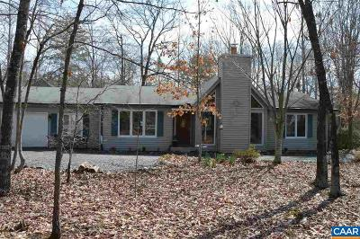 Fluvanna County Single Family Home For Sale: 21 Haversack Rd