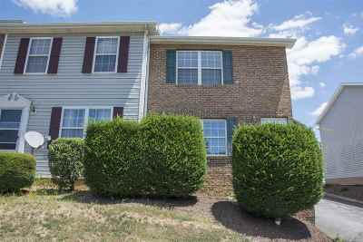 Harrisonburg Townhome For Sale: 2207 Reservoir St