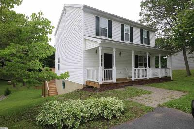 Staunton Single Family Home For Sale: 22 Singing Pines Ln