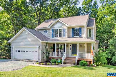 Fluvanna County Single Family Home For Sale: 10 Chickasaw Pl
