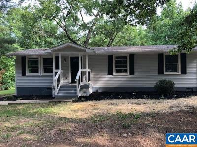 Albemarle County Single Family Home For Sale: 7190 Wyatt Ln
