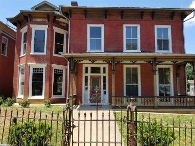 Staunton Single Family Home For Sale: 322 N New St