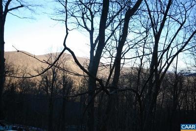 Nelson County Lots & Land For Sale: 885 Shamokin Springs Trl