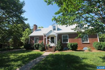 Charlottesville  Single Family Home For Sale: 1523 Oxford Rd