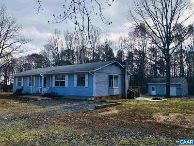 Scottsville Single Family Home For Sale: 228 Ruritan Lake Rd