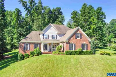 Charlottesville Single Family Home For Sale: 1915 Ridgetop Dr