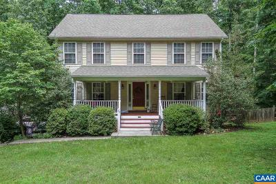 Fluvanna County Single Family Home For Sale: 43 Wildwood Dr