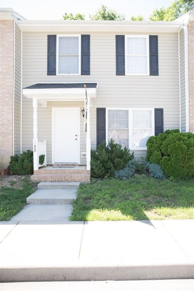 Rockingham County Townhome For Sale: 108 12th St #D