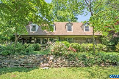 Albemarle County Single Family Home For Sale: 639 Crozet Ave