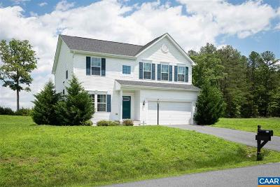 Fluvanna County Single Family Home For Sale: 967 Justin Dr
