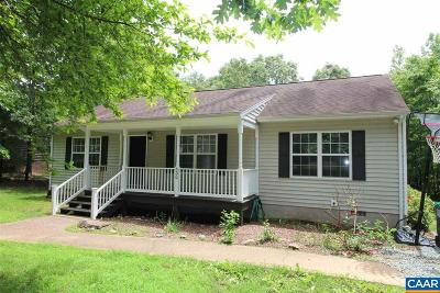 Fluvanna County Single Family Home For Sale: 530 Jefferson Dr