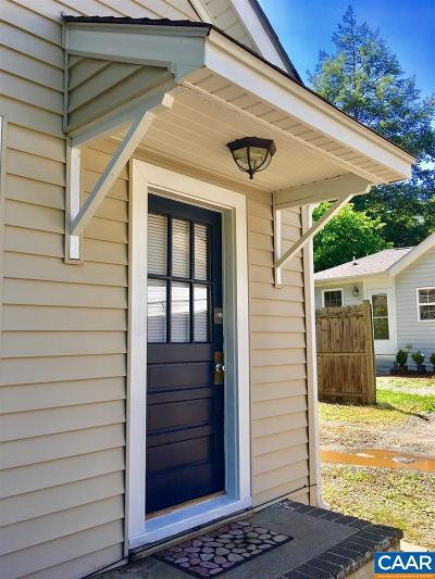 Charlottesville Single Family Home For Sale: 1603 Cherry Ave #A & B