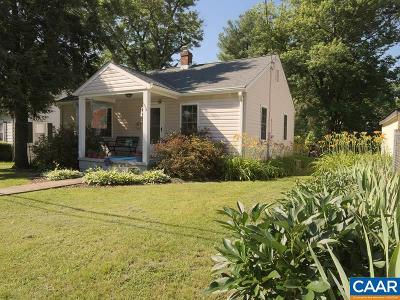Charlottesville  Single Family Home For Sale: 1304 Chesapeake St
