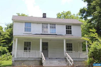 Albemarle County Single Family Home For Sale: 7599 Esmont Rd