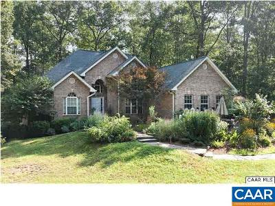Scottsville Single Family Home For Sale: 460 Coles Rolling Rd