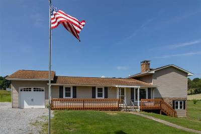 Linville Single Family Home Sold: 12145 Hollar School Rd