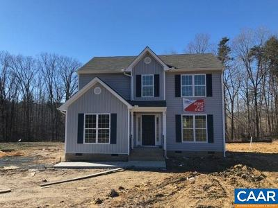 Fluvanna County Single Family Home For Sale: 987 Deep Creek Rd