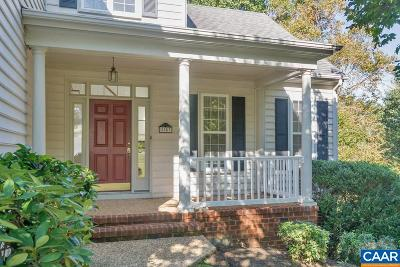 Charlottesville Single Family Home For Sale: 2883 Stratford Glen Way