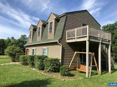 Nelson County Single Family Home For Sale: 8485 Laurel Rd