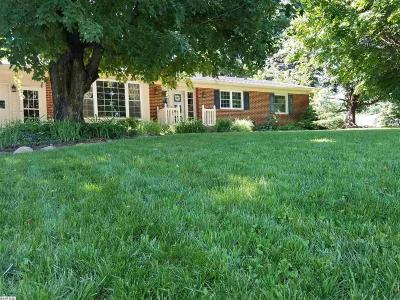 Staunton VA Single Family Home For Sale: $315,000