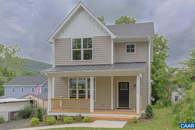 Charlottesville Single Family Home For Sale: 1412 Florence Rd #1412