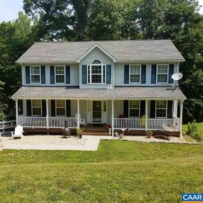 Fluvanna County Single Family Home For Sale: 23 Overlook Cir