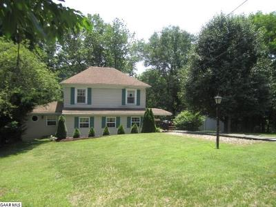 Staunton VA Single Family Home For Sale: $164,900
