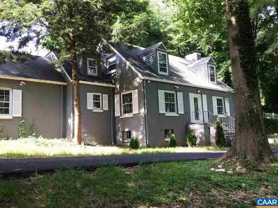 Albemarle County Single Family Home For Sale: 2 Orchard Rd