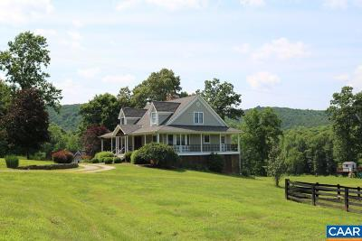 Nelson County Single Family Home For Sale: 370 Piney Mountain Ln