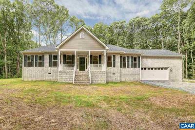 Louisa County Single Family Home For Sale: 1500 Lake Forest Dr