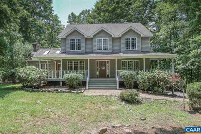 Fluvanna County Single Family Home For Sale: 32 Barrett St