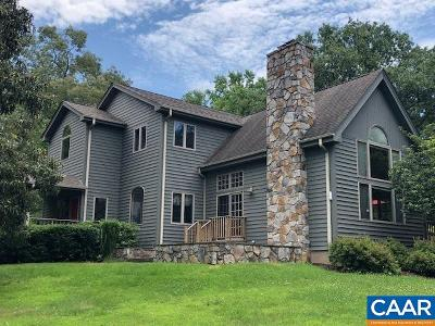 Albemarle County Single Family Home For Sale: 1905 Craigs Store Rd