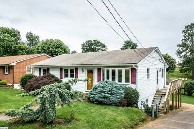 Staunton VA Single Family Home For Sale: $174,500