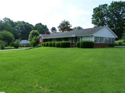 Stuarts Draft Single Family Home For Sale: 1823 Stuarts Draft Hwy